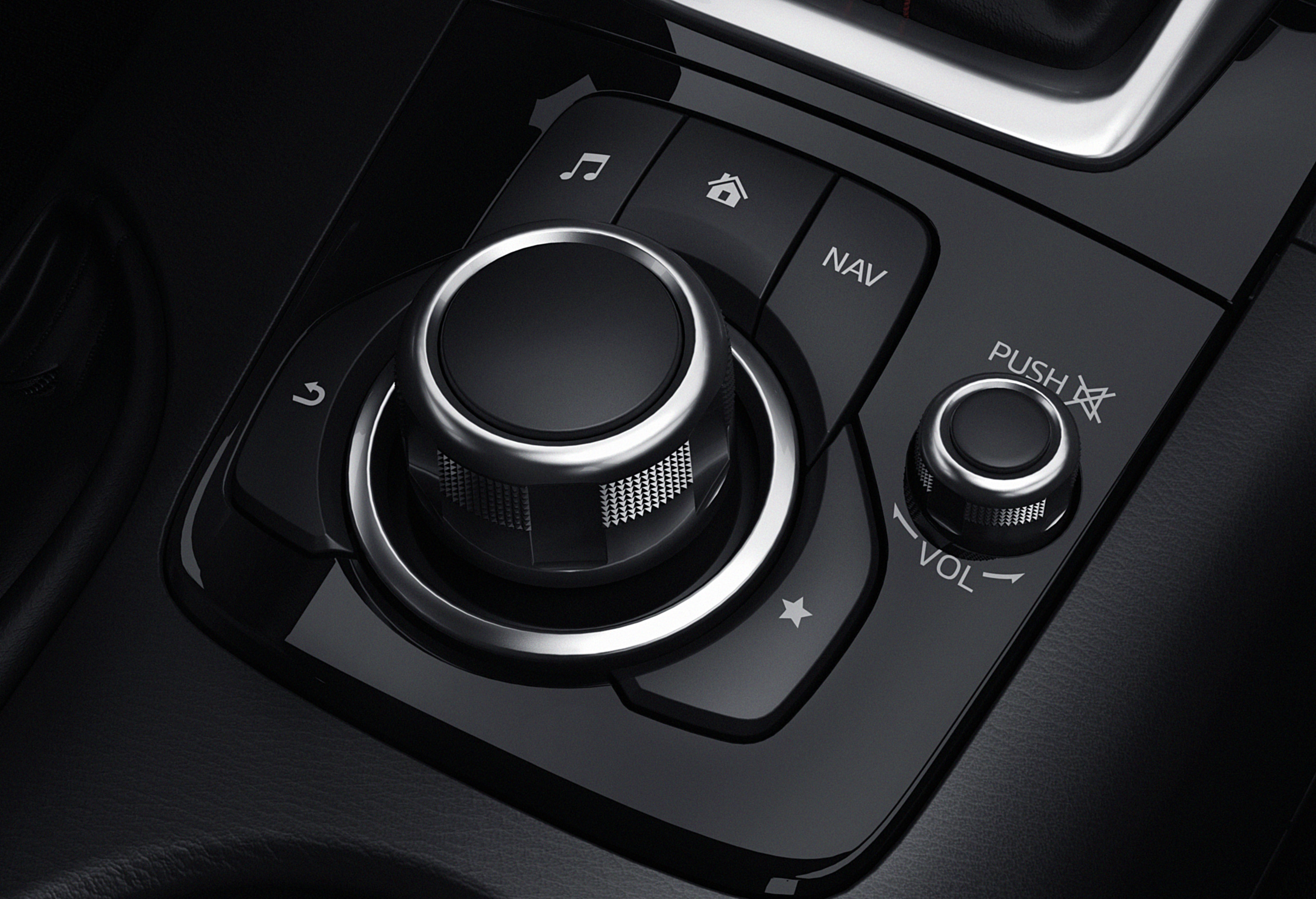 Mazda 3 Owners Manual: Commander switch operation
