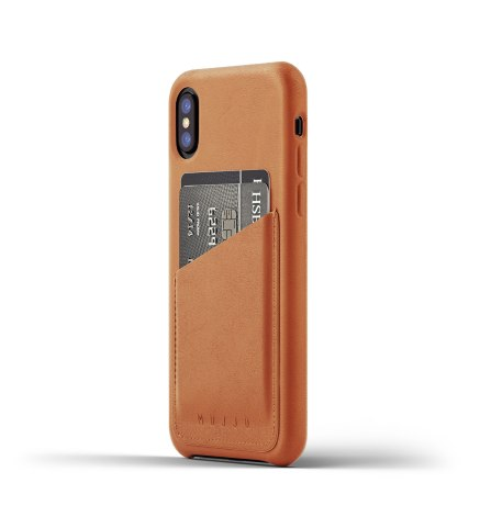 Full-Leather-Wallet-Case-for-iPhone-X-Tan-Thumbnail-1