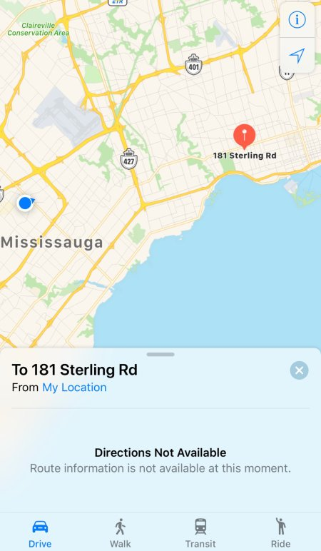 it appears that navigation and routing functions of apple maps are down at the moment if you try to search for an address this is what you see apple2