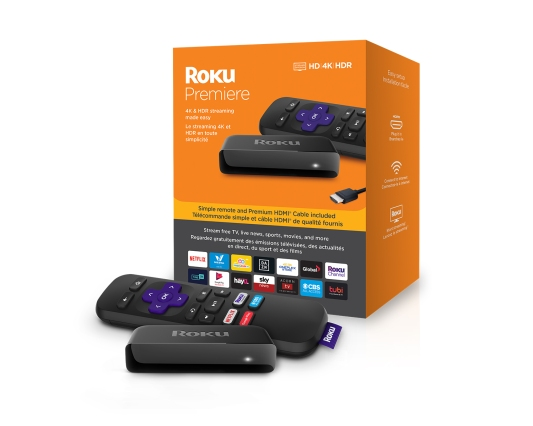 Roku Premiere Box With Product